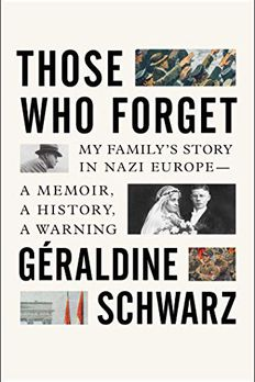 Those Who Forget book cover