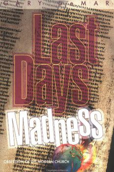 Last Days Madness book cover