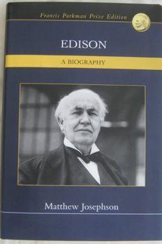 Edison - A Biography book cover
