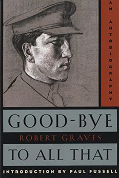 Good-Bye to All That book cover