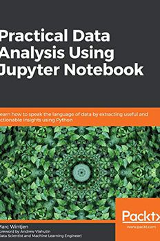 Practical Data Analysis Using Jupyter Notebook book cover