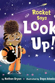 Rocket Says Look Up! book cover
