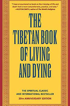 The Tibetan Book of Living and Dying book cover