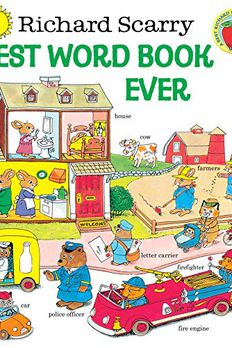 Richard Scarry's Best Word Book Ever book cover
