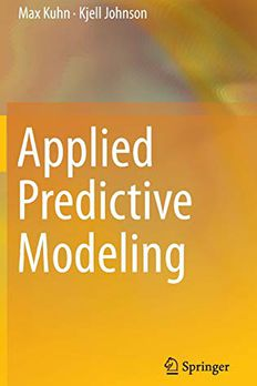 Applied Predictive Modeling book cover