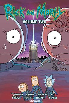 Rick and Morty, Vol. 2 book cover