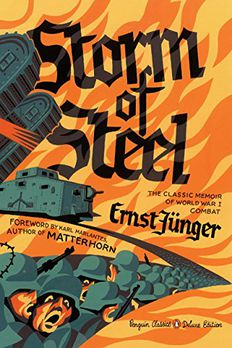Storm of Steel book cover