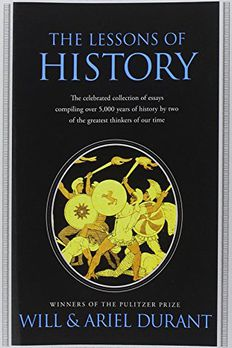 The Lessons of History book cover