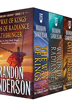 Stormlight Archive MM Boxed Set I, Books 1-3 book cover