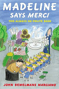Madeline Says Merci book cover