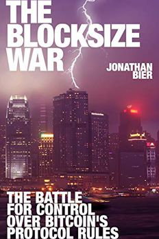 The Blocksize War book cover