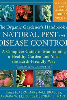 The Organic Gardener's Handbook of Natural Pest and Disease Control book cover