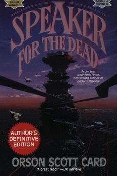 Speaker for the Dead book cover