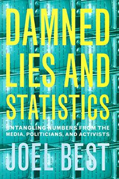Damned Lies and Statistics book cover
