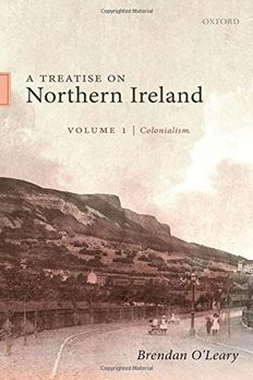 A Treatise on Northern Ireland, Volume I book cover