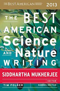 The Best American Science and Nature Writing 2013 book cover