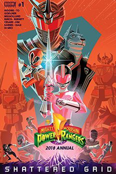 Mighty Morphin Power Rangers 2018 Annual book cover