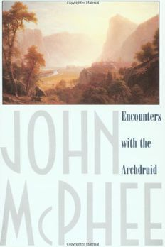 Encounters with the Archdruid book cover