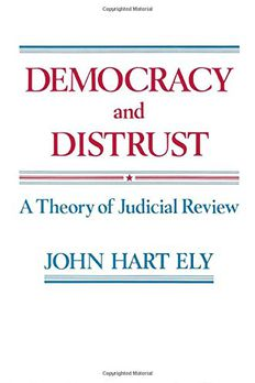 Democracy and Distrust book cover