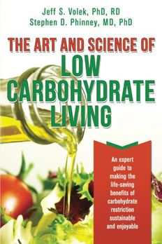 The Art and Science of Low Carbohydrate Living book cover