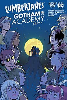 Lumberjanes/Gotham Academy #2 book cover