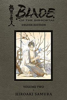Blade of the Immortal Deluxe Volume 2 book cover
