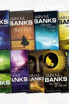 Iain M Banks Collection Culture Series 9 Books Bundle book cover