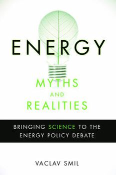 Energy Myths and Realities book cover