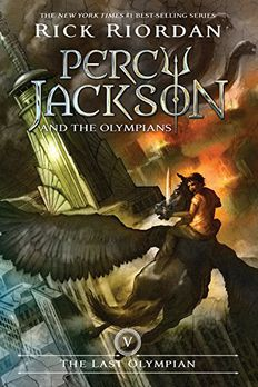The Last Olympian book cover