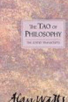 Tao of Philosophy book cover