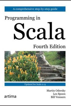 Programming in Scala book cover