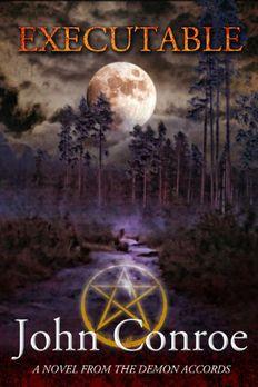 Executable book cover