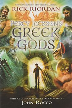 Percy Jackson's Greek Gods book cover