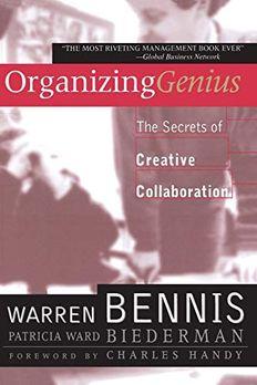 Organizing Genius book cover