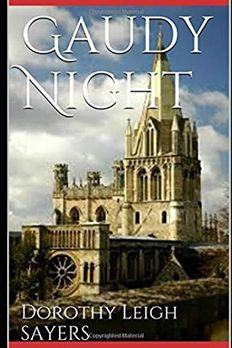 Gaudy Night book cover