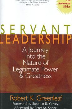 Servant Leadership book cover