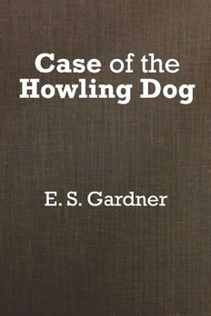 The Case of the Howling Dog book cover