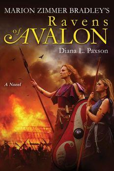 Marion Zimmer Bradley's Ravens of Avalon book cover