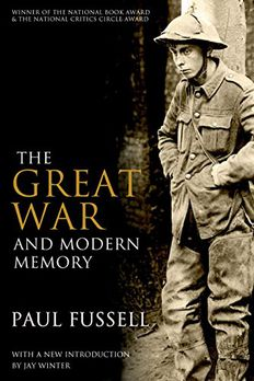 The Great War and Modern Memory book cover
