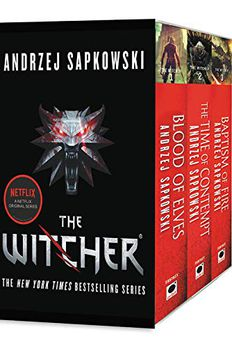 The Witcher book cover