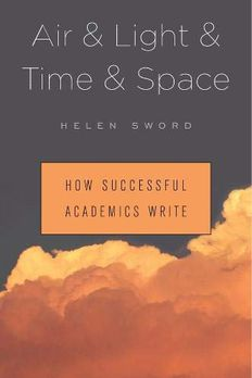 Air & Light & Time & Space book cover