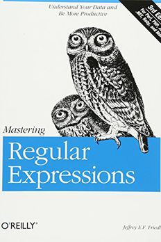 Mastering Regular Expressions book cover