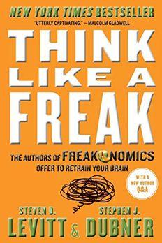 Think Like a Freak book cover
