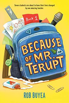 Because of Mr. Terupt book cover