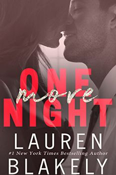 One More Night book cover