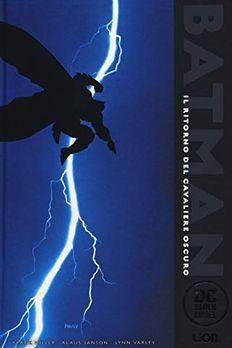 Il ritorno del cavaliere oscuro. Batman book cover