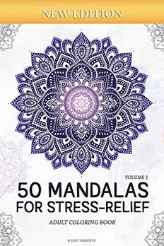 50 Mandalas for Stress-ReliefAdult Coloring Book book cover