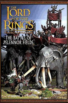 The Battle of Pelennor Fields book cover