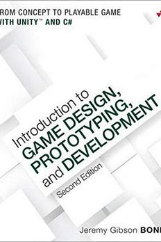 Introduction to Game Design, Prototyping, and Development book cover