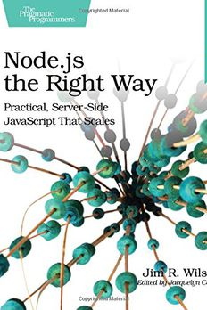 Node.js the Right Way book cover